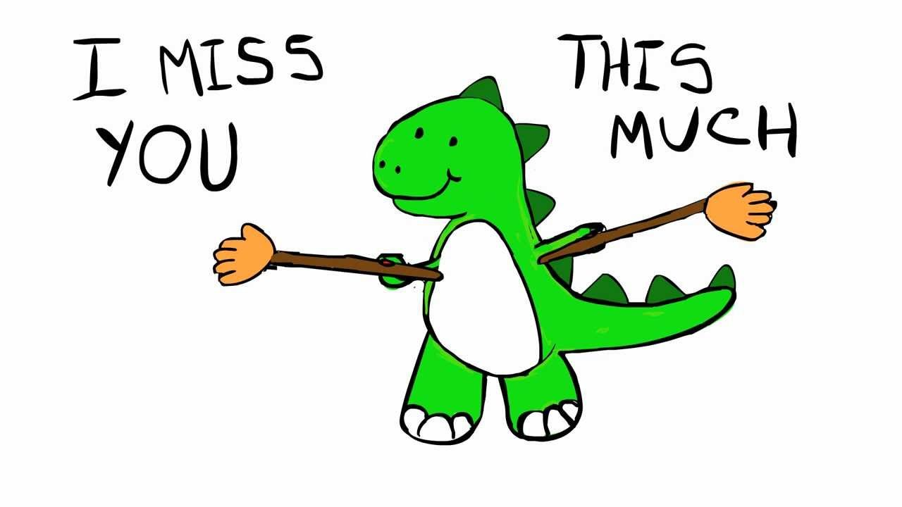Image Result For Trex I Miss You Meme Cute Miss You Missing You