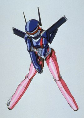 Nene from Bubblegum Crisis (the original series). No idea why it's so hard to find pictures of her outfit from that one, but this is the best one I can find.