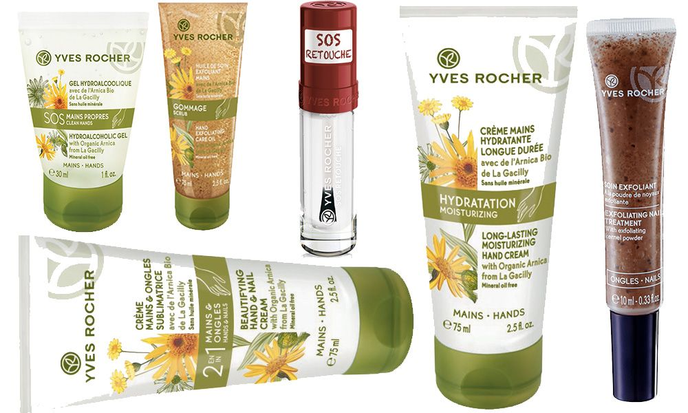 Yves Rocher Focus Nuovi Trattamenti Mani E Unghie Yves Rocher