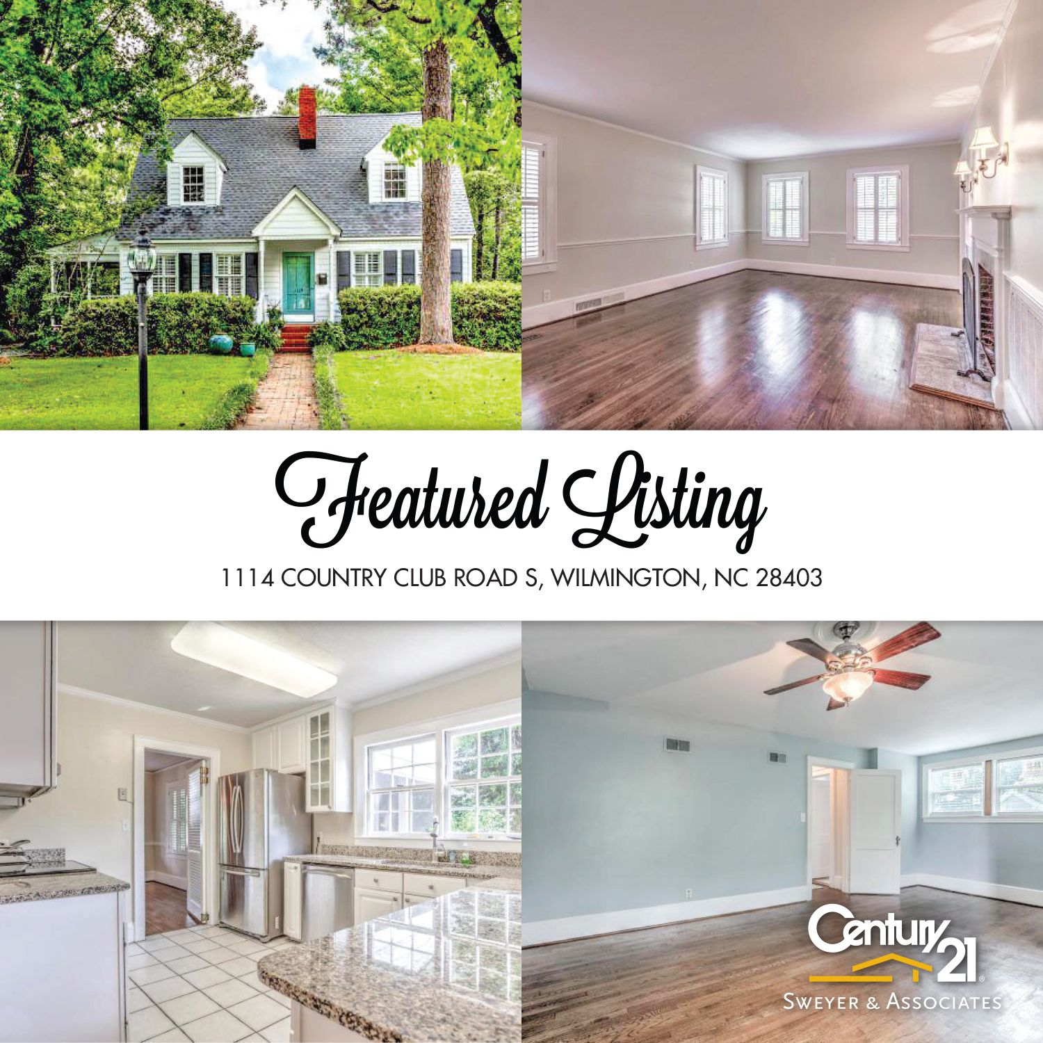 1537 Forest Hills Road Jacksonville Florida 32208 4: Century 21 Sweyer & Associates Presents 1114 Country Club