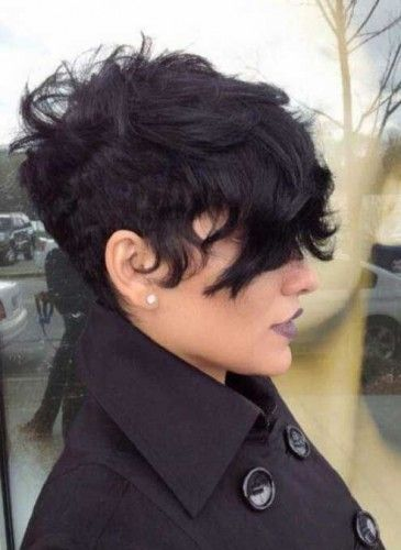 Short Curly Pixie Hairstyles Hair Pinterest Short Curly - Styling curly pixie