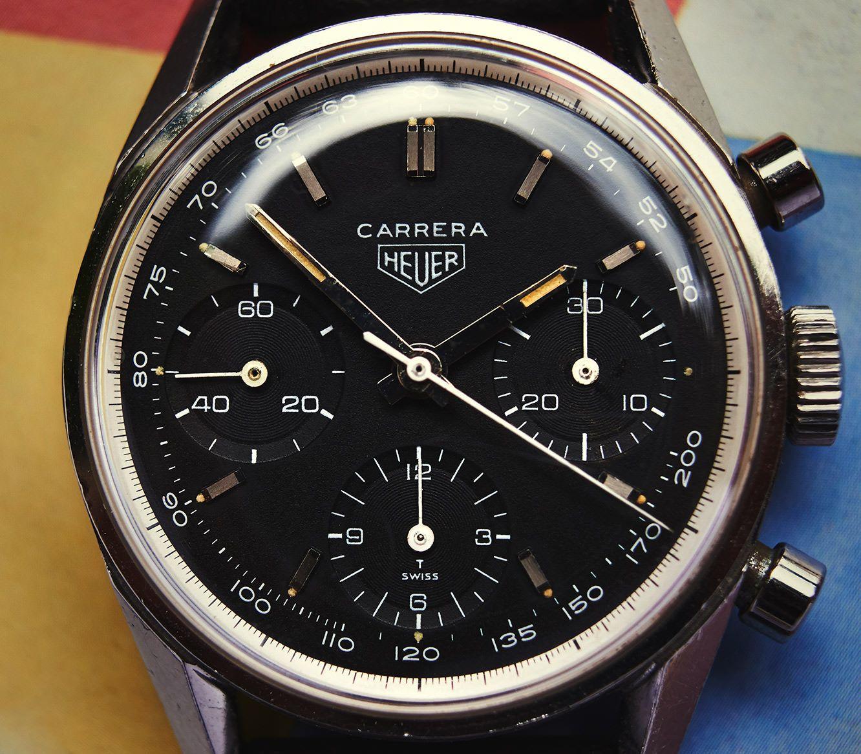 08e232c6f61 Collectors Corner- Heuer Carrera 2447NT