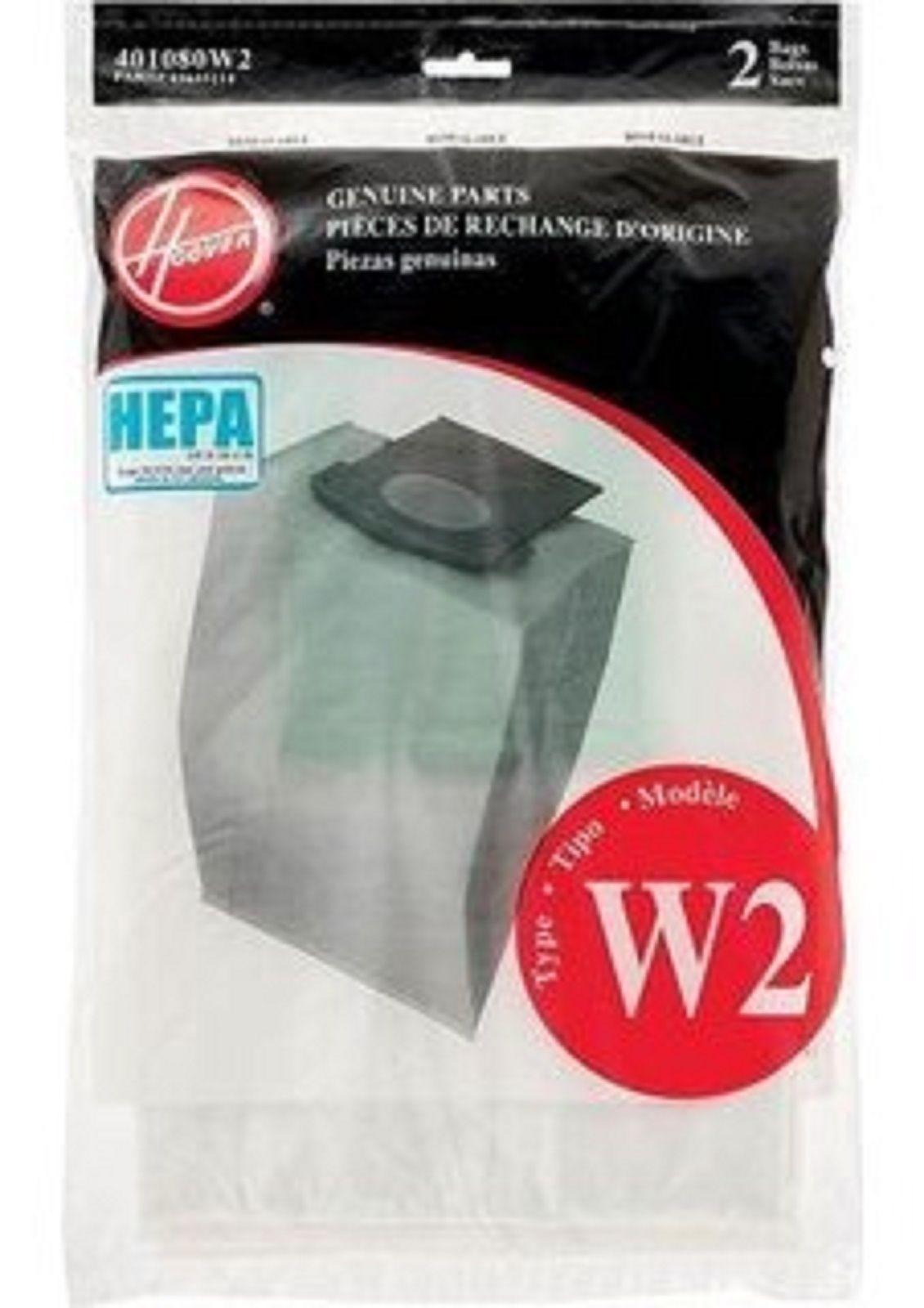 13 95 Hoover Windtunnel 2 Upright Type W2 Hepa Bags 2 Pk Part 401080w2 43655114 Ebay Home Garden Hepa Hoover Windtunnel Bags