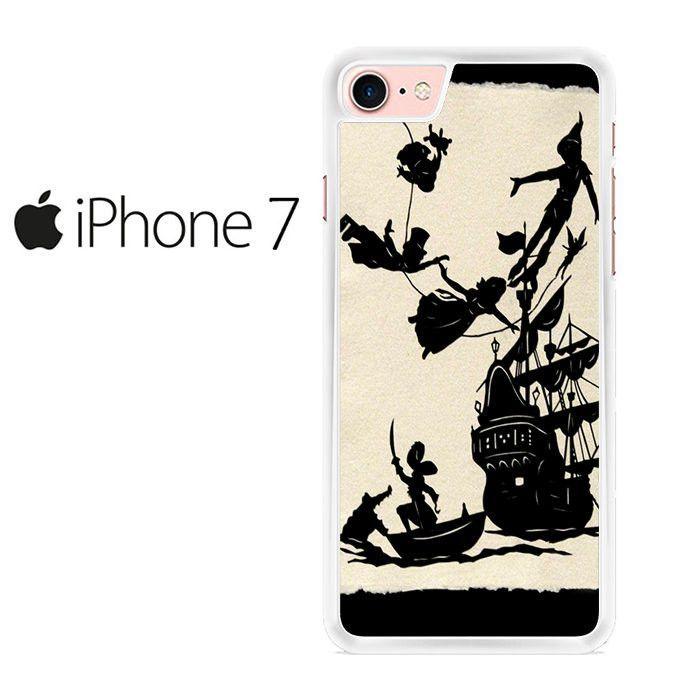 Disney Peter Pan Black and White Pattern Iphone 7 Case