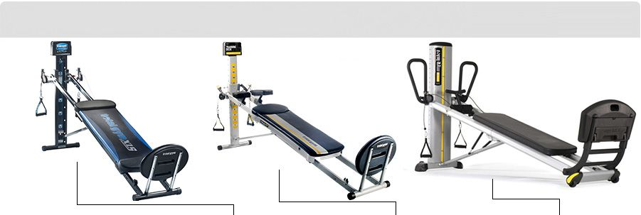 Compare products to check out total gym gym workouts at home gym