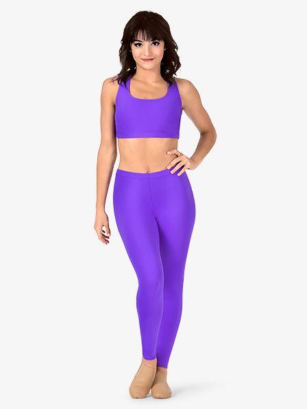 c778af80f0d BalTogs Womens Plus Size Team Basic SilkTech Dance Leggings