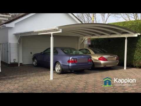 The Ultimate 2 Car Carport Canopy - YouTube & The Ultimate 2 Car Carport Canopy - YouTube | Contemporary Carports ...