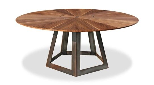25 Round Walnut Table Walnut Table Custom Conference Table Table