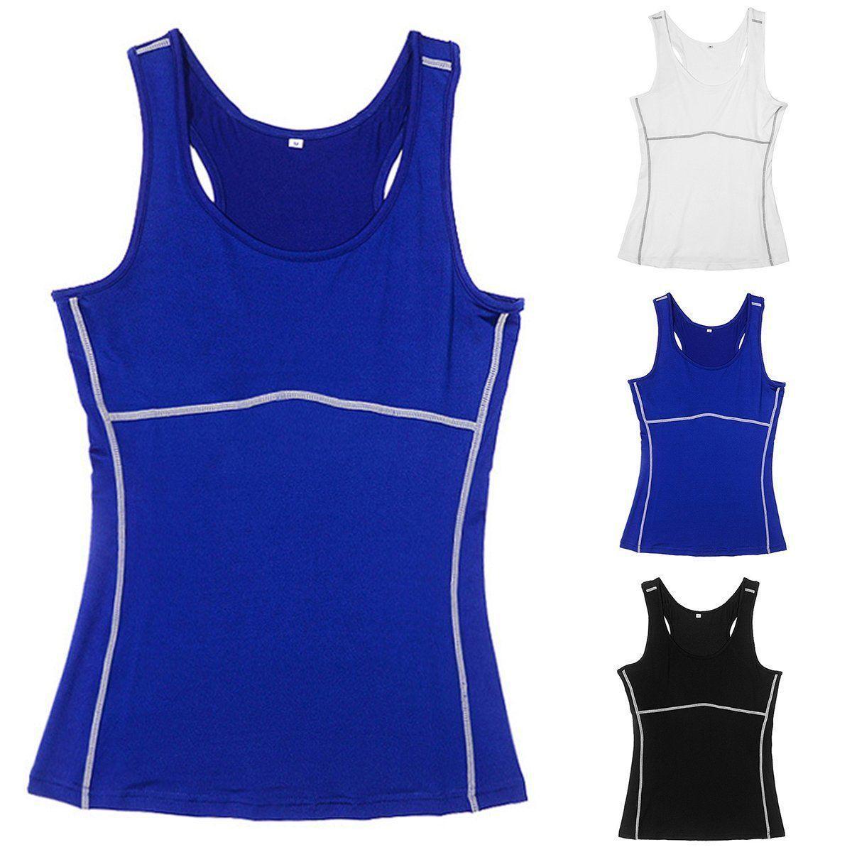 Women'S Soft Slimming Undershirt Vest Shaper Cami Body Shaper Shapewear Tank Top