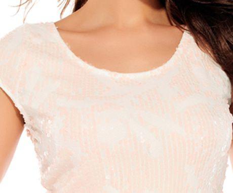 Cap Sleeve Sequins Dress