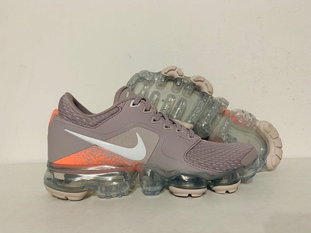 Nike Air Vapormax Gs Chaussures Course Atmosphere Gris Lave