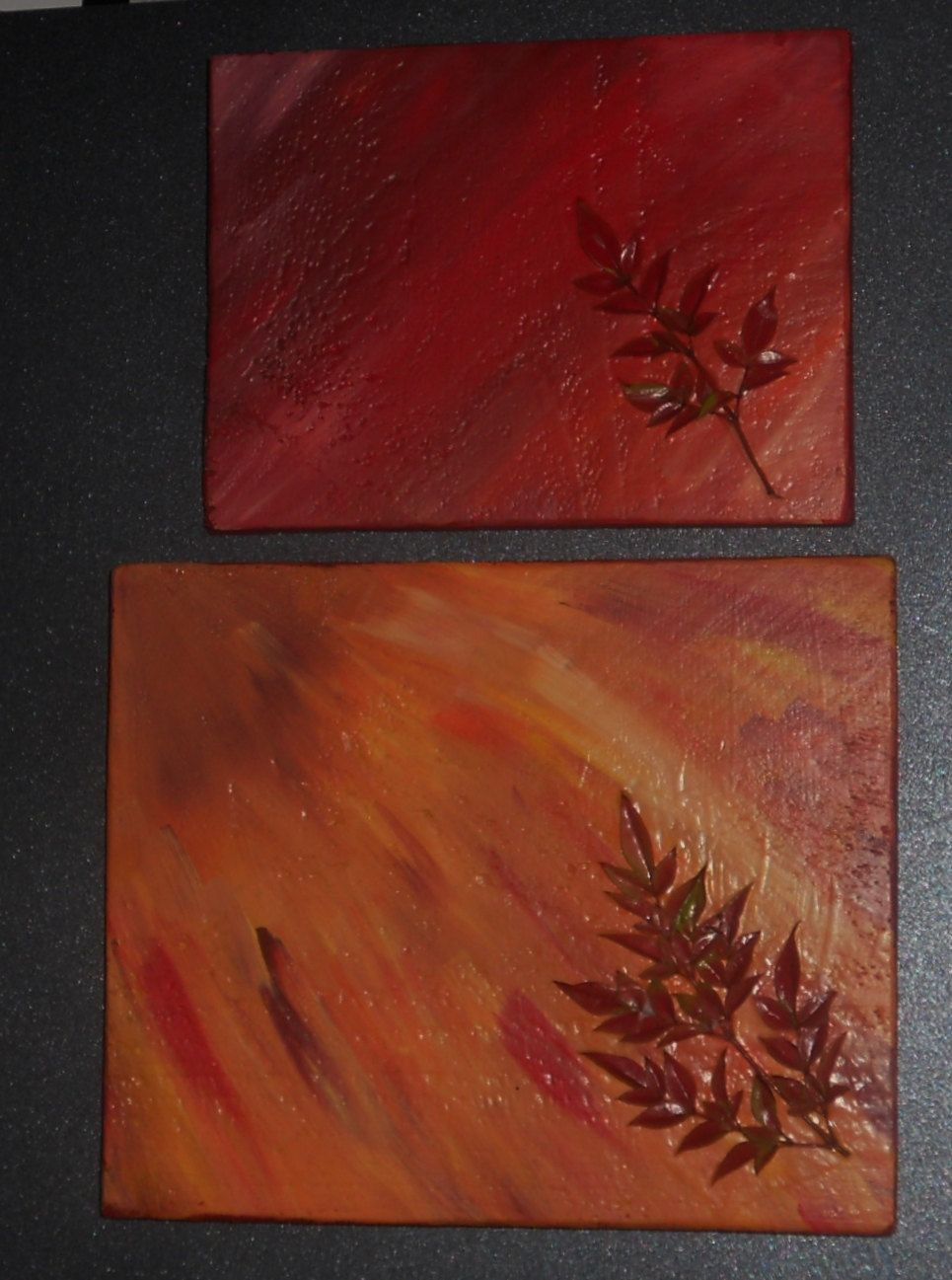 Autumn light wall art using upcycled fencing by chicocreekcreations