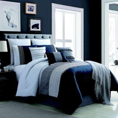 Hilden 10 Piece Comforter Set | Bed Bath & Beyond | Master bedroom