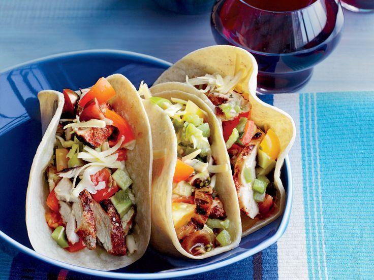 Photo of Grilled-Chicken Tacos-Grilled-Chicken Tacos  This grilled-ch…