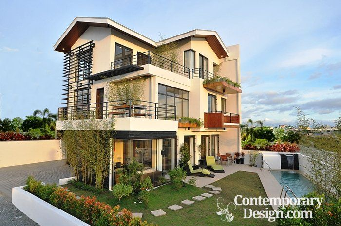 Front Balcony Designs Philippines House Design Luxury House Designs Cool House Designs