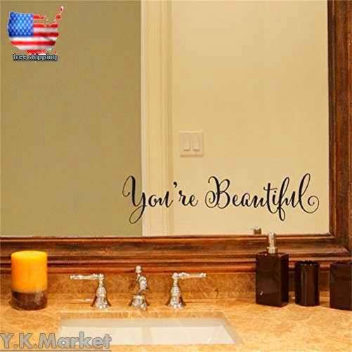 Removable Decal Art Mural Home Living Room Decor Quote Wall Sticker ...