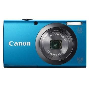 Canon PowerShot A2300   16 MP, Digital IS, DIGIC 4 Image Processor   Smart AUTO with 32 predefined Shooting Situations   720p HD Video Recording