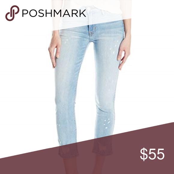 Hudson Jeans Womens Savy Midrise Crop Straight