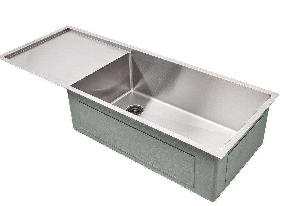 50 Drainboard Sink Single Bowl Drainboard Left 5ps30l