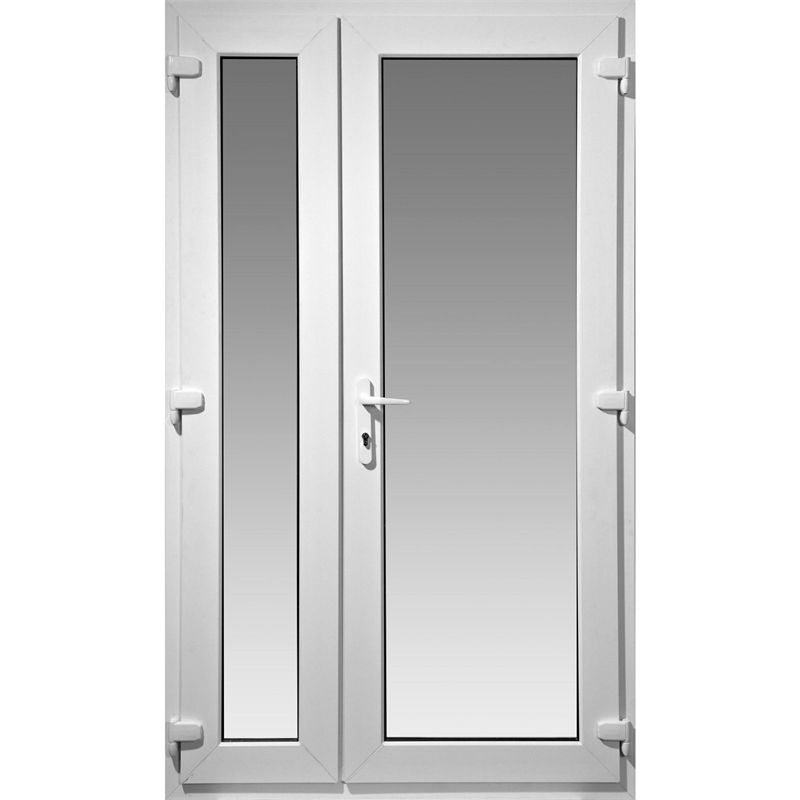 Right Hand Master Model 4 Offset French Door Set 1190mm Wide 2090mm High Door Sets French Doors Tiny House Stairs