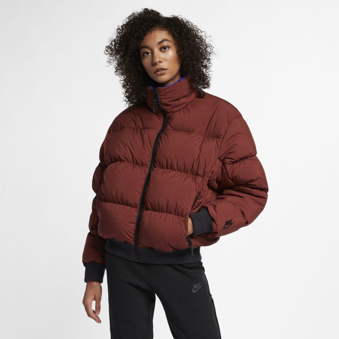 6ad038ba3292 NikeLab Collection Womens Puffer Jacket Size XL (Pueblo Brown)