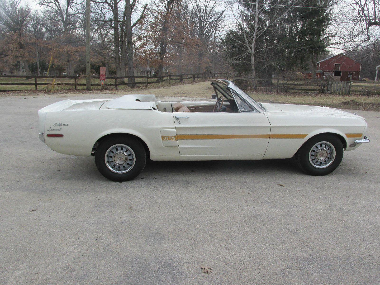 1968 Mustang California Special Convertible Mustang California Special Classic Mustang Mustang Cobra