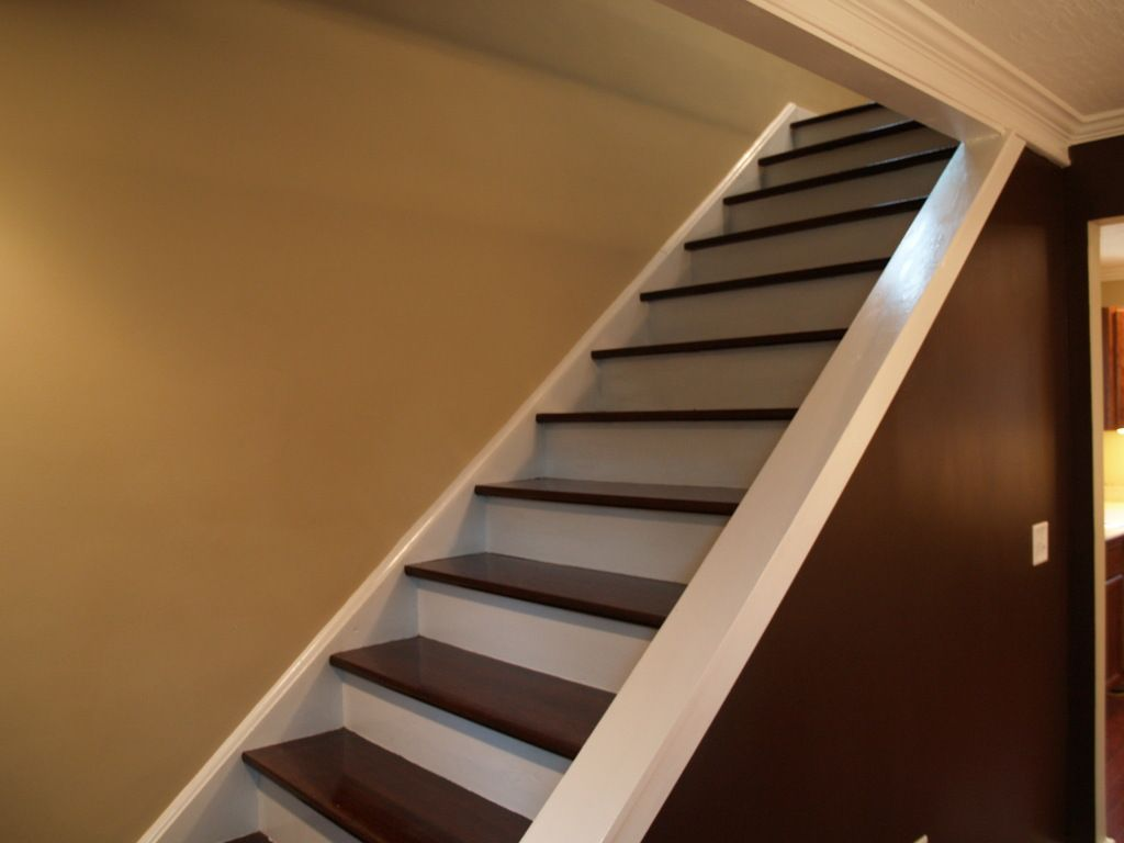 Good I Like The Wood Finish And The Painted Front! Refinish StairsAcornTassel