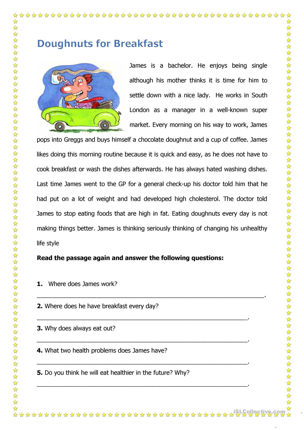 One Click Print Document Reading Worksheets Reading Comprehension Worksheets Teaching Reading Comprehension [ 1752 x 1239 Pixel ]