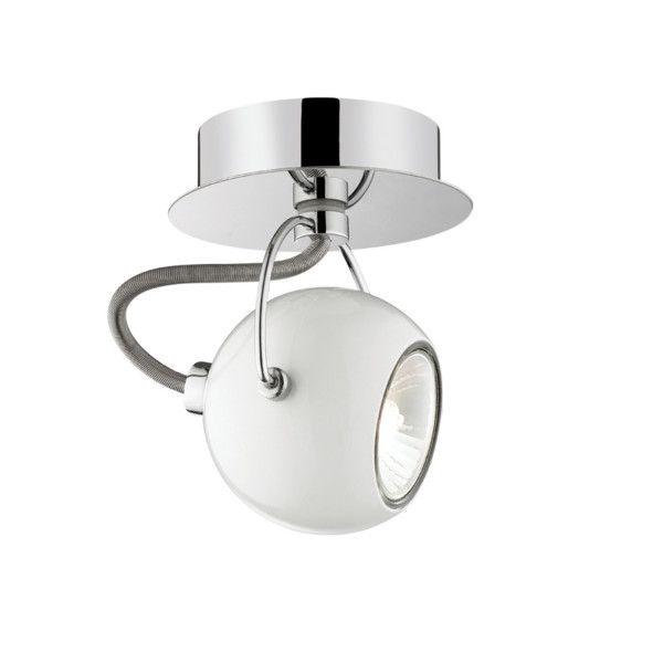 Nástenné/stropné svetlo Crido Point White | Bonami