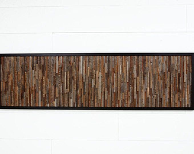 Reclaimed wood wall art made of old barnwood, Different Sizes Available, Large art, wood wall sculpture #reclaimedwoodwallart