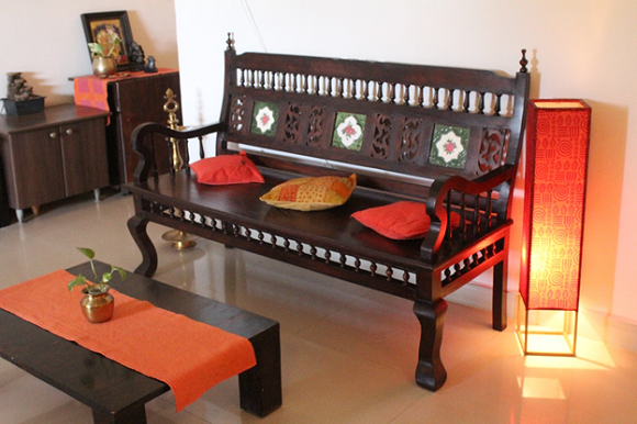 Living Room Makeover A Kerala Style Interior In The Making House Furniture Design Home Decor Decor