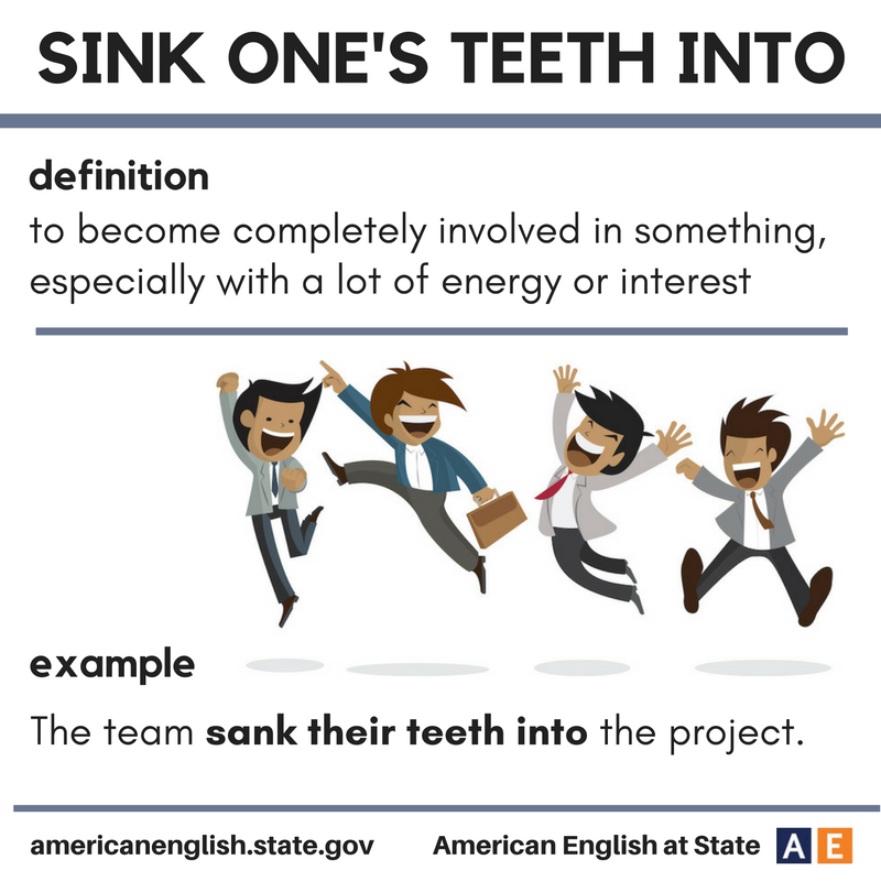 Astounding Sink Your Teeth Meaning Images - Simple Design Home ...