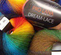 Photo of Einfacher geschnürter Schal aus Farbverlaufsgarn