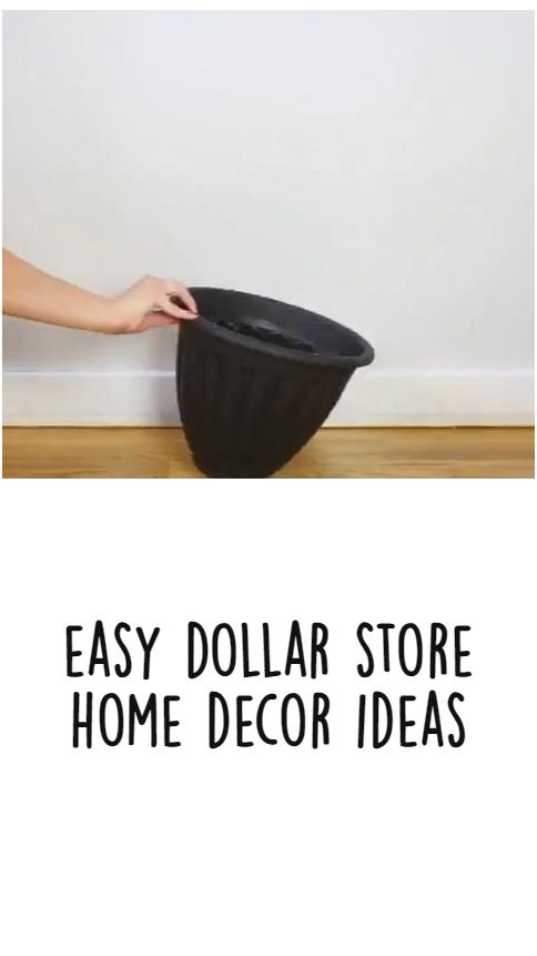 easy dollar store home decor ideas