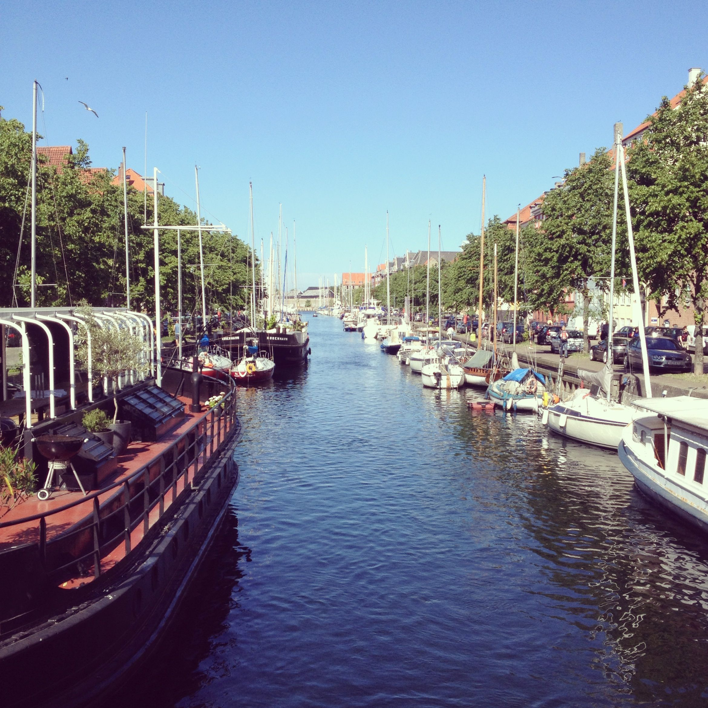 Christianshavn canal #Copenhagen