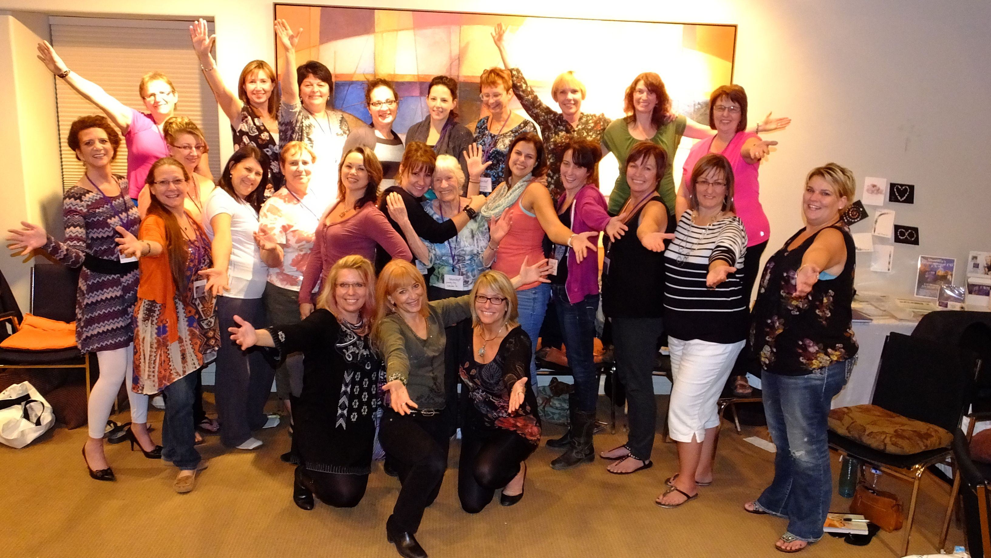 Group photo from the 2013 Sedona, AZ Experience Yourself Women's Retreat. See yourself in this photo? Join us in 2014 - www.experienceyourself.net. See you soon!