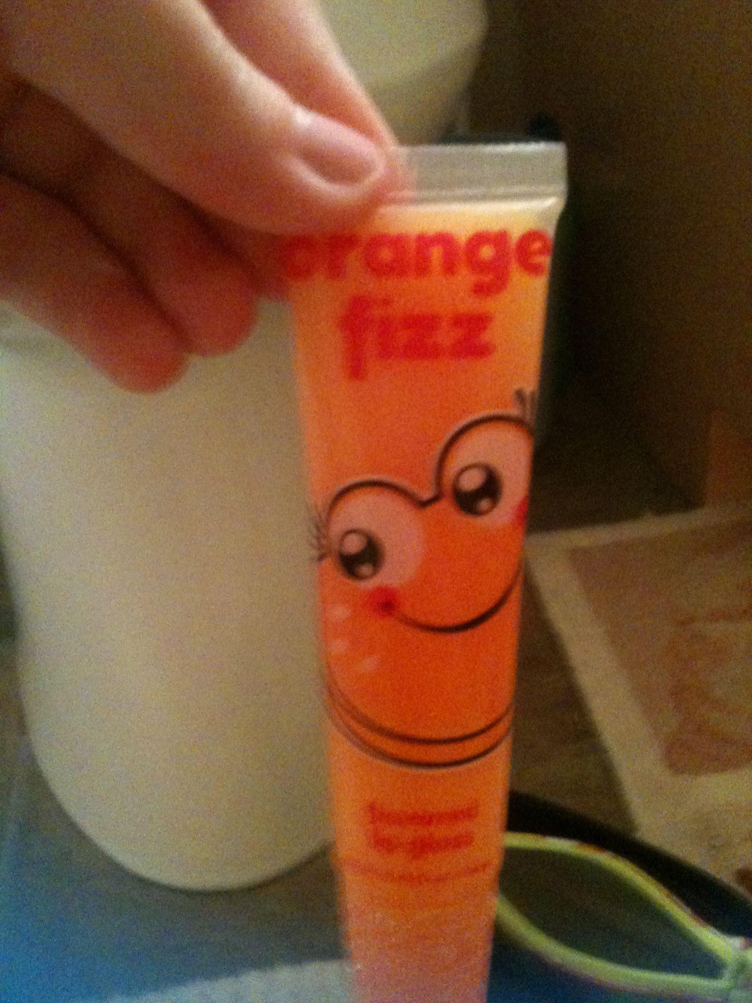 Orange Fizz Justice lip gloss Lip balm, The balm, Lip gloss