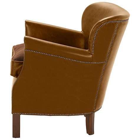 Groovy Halo Little Professor Aniline Leather Chair Napinha Camel Ncnpc Chair Design For Home Ncnpcorg
