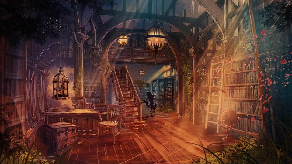 43+ Library fantasy information