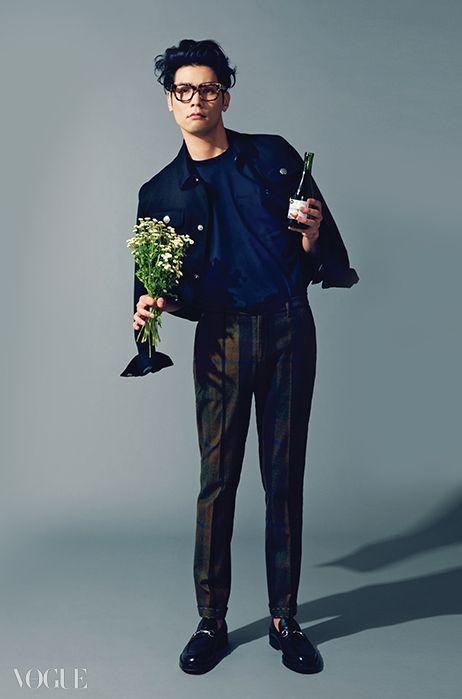 Choi Daniel Vogue Magazine August Issue 14 Choi Daniel Korean