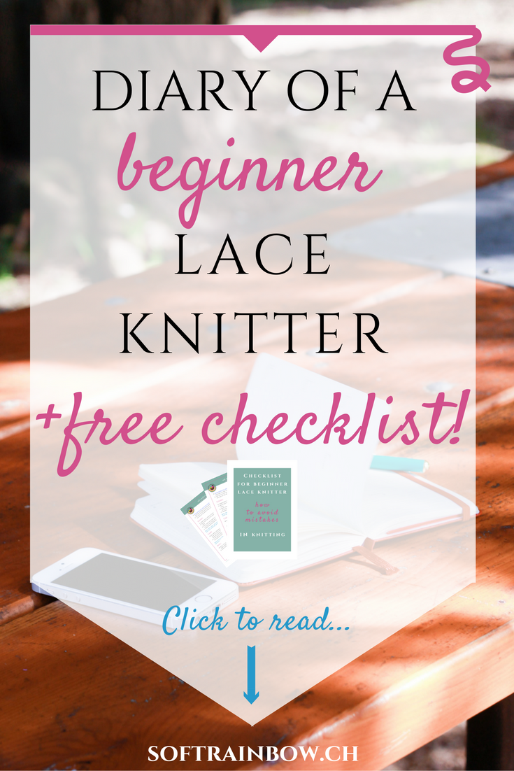 Guest post: Diary of a beginner lace knitter - part 1