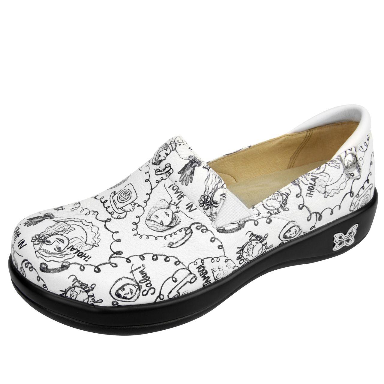 Alegria Shoes - Keli Hey Girlfriend Professional Nursing Shoe, $119.95 (http://www.alegriashoes.com/products/keli-hey-girlfriend-professional-nursing-shoe.html)