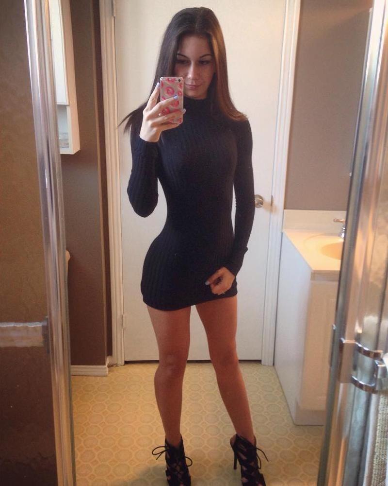 Black knit bathroom selfie selfie 39 s pinterest black for Bathroom dress