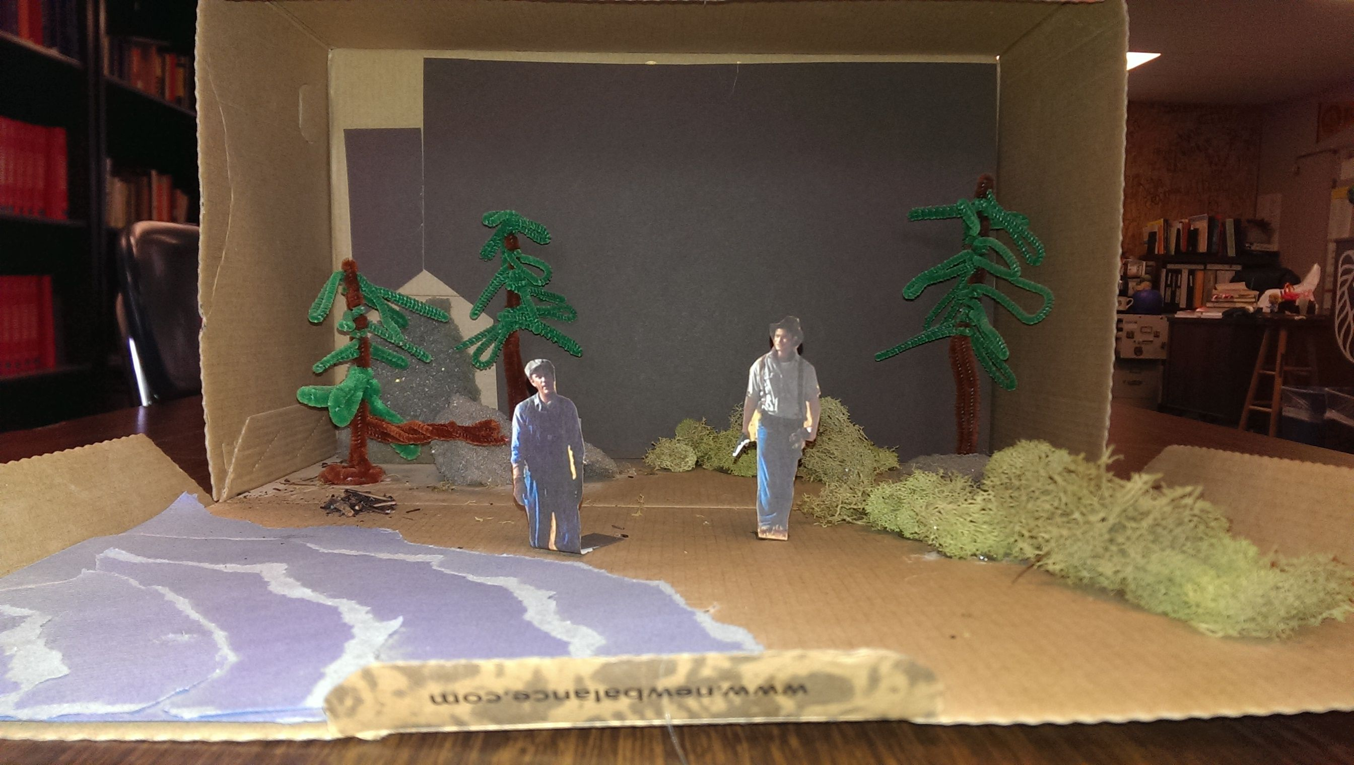 Of Mice And Men Project Create A Diorama That Captures What