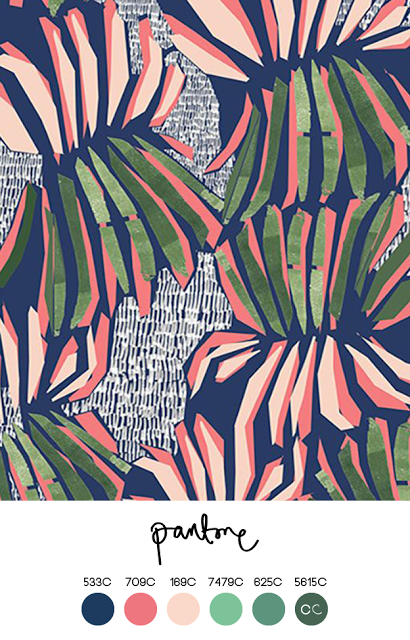 Contemporary colour katy welsh fabric print design textile pattern art also color combinations for artists rh pinterest