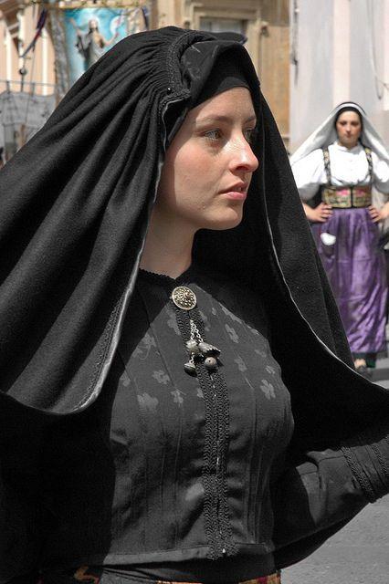 Widow dress from Escalaplano