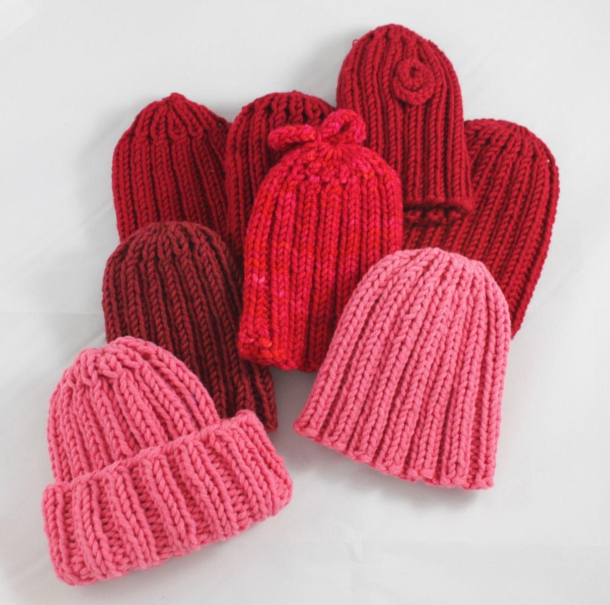 Little Hats, Big Hearts - Knitted Hat Pattern - FREE   Shaina Bilow ...