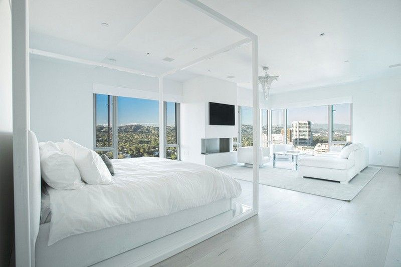 Master bedroom with custom furniture   | Usual House