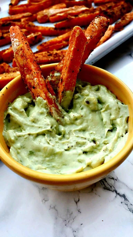 Healthy, Crispy Crunchy Sweet Potato Fries #FoodandDrink