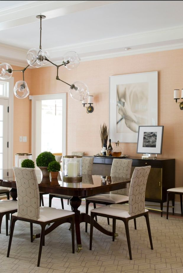 Dinning Room Dining Room Colors Peach Living Rooms Dining Room Paint Colors #peach #living #room #walls